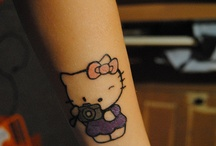 Hello Kitty Ink / by Crystal Maggio