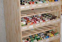 Storage Ideas / by Gail Davis