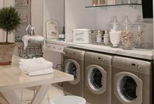 Laundry Rooms / by Michelle {Michelle Kroll Design}