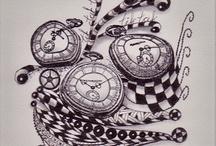 Grandma S' doodles / by Sandee Nordby