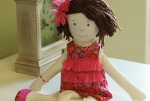 My Rag Dolls Rising dolls / by Diane Eugster
