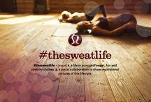 lululemon   #thesweatlife / by lululemon