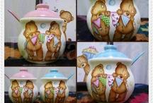 ceramica pintada / by Mariela Artesanias