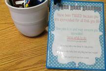appreciation gift ideas / by Jennifer Turner