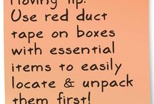 Moving Tips / by Paige Thompson