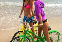 Beach Girls Escape To The Sea / by creativeboysclub