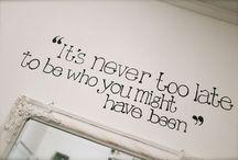 Inspiration Wall / by Megan Dalla-Camina