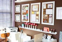 Organized Offices / by Laura (I'm an Organizing Junkie)