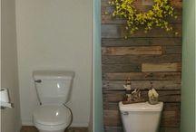 Small bathroom / by Terri Whiteside