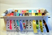Craft Room / Craft room and craft organization ideas. / by Kelly Serfes
