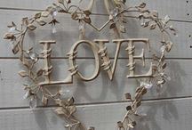 Wreaths ~ Valentines / by Sherry Pope