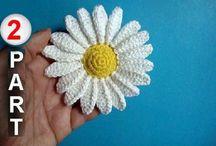 Crochê / Flores (1) / Borboletas - Crochet / Flowers / Butterflies / by Angela Espanhola