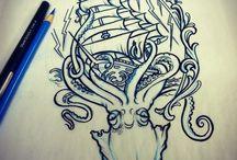 Tattoos / by Ashley Bendiksen