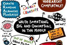 notetaking & mindmapping / by Amy Compton