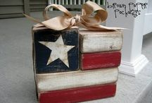Patriotic Holidays Ideas / Memorial Day/4th of July/Labor Day crafts & inspirational ideas / by Marie Prazak
