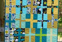 wonky cross quilts / by Karen Ganske