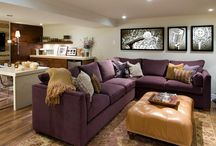 Basement Design / design and decor ideas for basement developments. We are finishing our basement slowly but surely, and I want it to look amazing. / by Brooke Berry