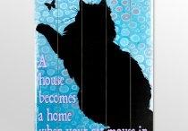 Cats...well said / by Lori Mason