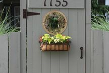 Gardening Inspiration / by Carrie {Hooked on Decorating}