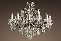 Crystal Chandeliers / by Decoholic