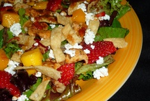 The Salad Bar / A place to find and share the BEST salad recipes!  / by Wendy Wofford-Garcia