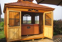 Cabanas . . .Design Your Own / by Back Yard Ideas