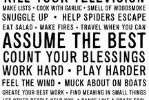 words / by Katy Nelligan