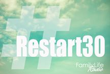 #Restart30 / Listening to Family Life Radio can change your life! Take the #Restart30 Day Challenge: Listen July 28-Aug 22 and you could win a trip to Orlando, theme park tickets, and more! / by Family Life Radio
