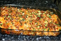 casseroles / by Kathy Johnson