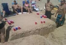 Beach fun!! / by Deanna Drake