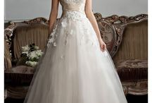 Wedding Dresses/Shoes / Wedding dress examples / by Jennifer Nantz