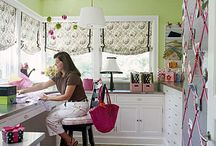 craft room/office / by Nichole Caravello Eldredge