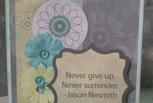 Cards - Encouragement / by Julee Cook