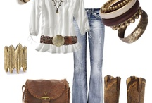 MY STYLE / A whole lotta Country-Girl.......but I Love to get Dressed up every know and then. Sort of feel out of place when doing so! But what does a Women do?!  / by Amy Harcek