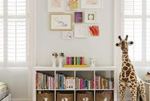 KB - Playroom/Office / playroom and home office ideas / by Kari Burchard