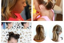 Hairstyles for girls / by Kara Cook (Creations by Kara)