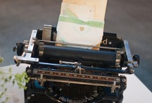 TyPeWrITeRs / by Laura Kass