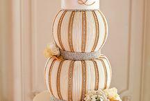 Wedding Cake Gold / by Satin Ice
