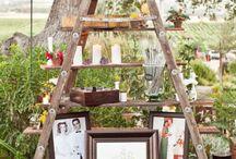 wedding ladder / by Wendy Maurice Bohara