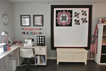 craft room inspiration / by Erin Spencer