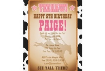Cowboy Cowgirl Birthday Party / by Dizzy Design Studio