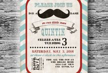 Mustache Bash Party / by Bee and Daisy Party Studio