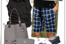 Black & Blue Golf / How to wear black and blue without looking like a bruise. / by Golf4Her