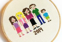 Cross stitch inspiration / by Angela Moore