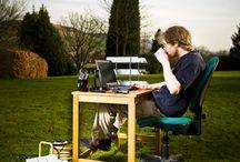 Work Stuff / by Electric Landlady