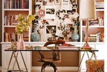 workspaces / by Angie Helm Interiors