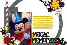 mickey mouse scrapbook / by Nita Griffith