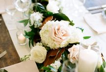 Our Wedding - Dining Tablescapes / Reception tables decoration and inspiration  / by Ali Reinsdorf