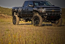 Real country boy trucks / by Cody Crabtree