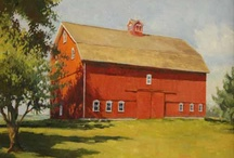 Barns / by Judy Poulsen
